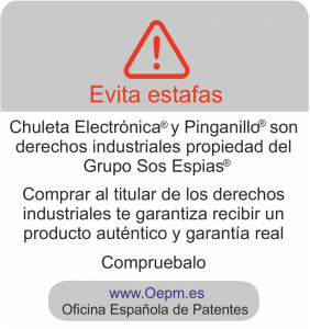 aviso Chuletas Electrónicas movil timos y estafas