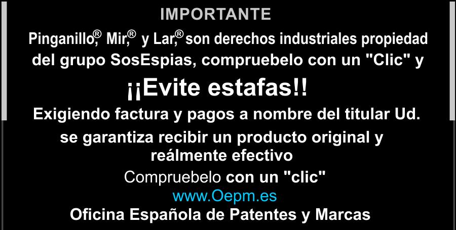 Pinganillo Patentes y Marcas