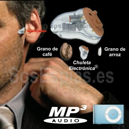 Pinganillo Lar 21 mp3 Chuleta Electronica Lar 21 mp3