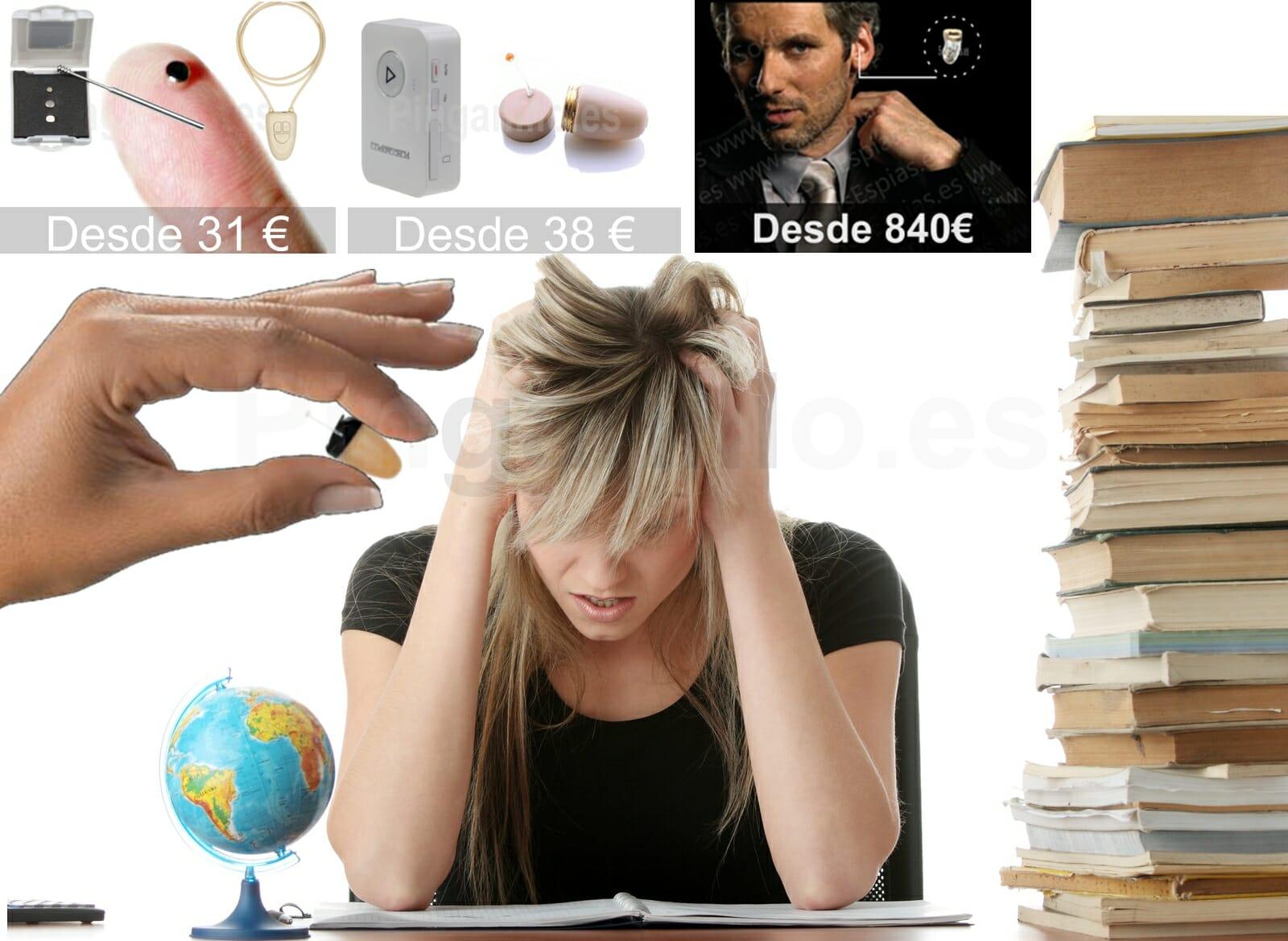 Pinganillo para Examenes