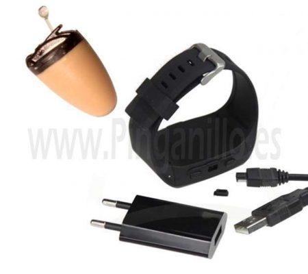 Pinganillo Reloj Bluetooth